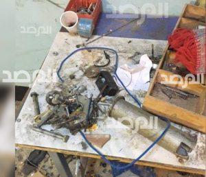 Hadba bomb-making (Photo- Al-Marsad)