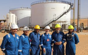 NOC and Austria's OMV look to expansion at Nafoura oil field |
