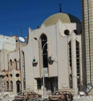 The Erkheis mosque has escaped serious damage (Photo: LNA)