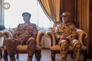 Serraj meets with commanders of central and western regions