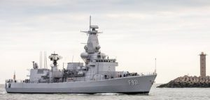 Operation Sophia's Belgian frigate BNS Louise Marie (Photo: Belgian navy)