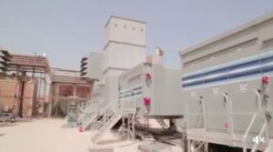 New generating sets at Tripoli West (Photo: GECOL)