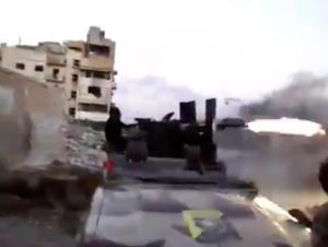 An LNA take firing in Sidi Khrebish (LNA vide0