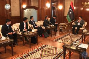 Serraj with South Korean delegation (Photo: PC media office)