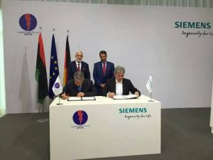 Siemens has signed an MoU with GECOL to resume maintenance and complete work on various power stations (Photo: GECOL).