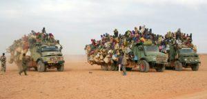 Migrants crossing the Sahara (Photo: Der Spiegel)