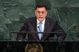 His Excellency Faiez Mustafa Serraj, President of the Presidency Council of the Government of National Accord of Libya