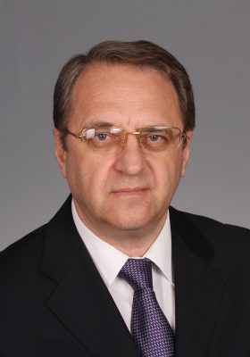 Mikhail Bogdanov, Russian Deputy Foreign Minister Photo: Foreign Ministry, Moscow)