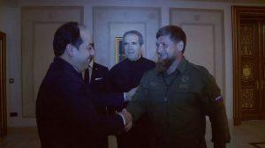 PC depity head Ahemd MAetig with Chehchen president