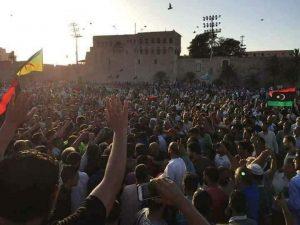 protest Igtet Tripoli