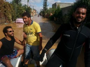 Flooding in Wadi Rabie