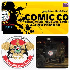 The RADA SDF raided and arrested over 20 people from the Comic Con event in Tripoli last night.