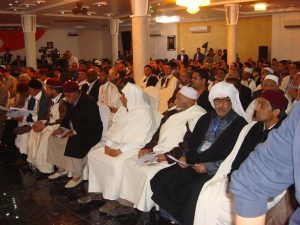 Attendees at th Gharyan conference (