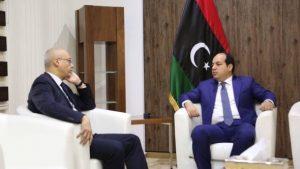 Ambassador Dogan with PC deputy head Ahmed Maetig (Photo: PC)