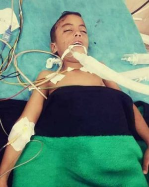 The dead boy Miftah Fathi Ashour (Photo: social media)