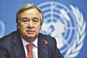 UN secretary-general Antonio Guterres (Photo: UN)