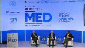 Gassan Salame speaking at length on Libya at the Rome 2017 Mediterranean Dialogues (Photo: ISPI)