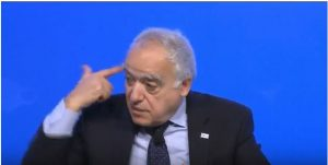 Ghassan Salame speaking about creating the right conditions for elections in Libya said people must be able to vote freely without having a pistol held to their head (Photo: capture from ISPI video).