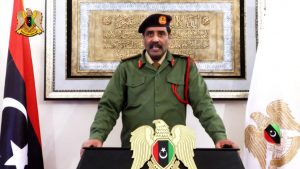 LNA spokesman Colonel Ahmed Mismari (Photo: LANA)