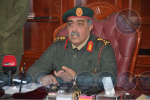 Major-General Abdul Razzaq Nazhuri (Photo: LANA)