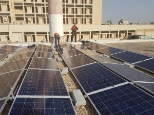 The UNDP has installed solar panels for backup power supply in hospitals across Libya (Photo: for UNDP).