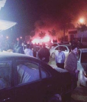 Two bombs went off in Benghazi killing (Photo: Social Media)