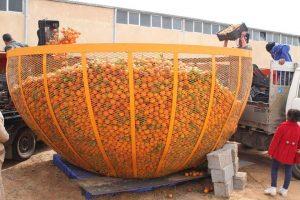 The Orange Peace Festival was held in the Wershafana region of Tripoli (Social media).