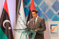 HNEC head Emad Sayaeh announces the extension of the voter registration period to 15 February (Photo: HNEC).