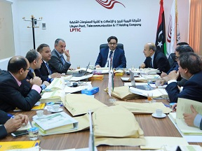 The LPTIC was able to hold its first General Assembly meetings in Tripoli sine 2014 under the unified chairmanship of Faisal Gergab (LPTIC).