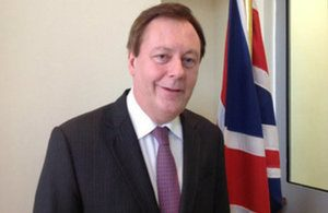 Frank Baker was officially confirmed as Britain's new ambassador to Libya today (Photo: FCO).