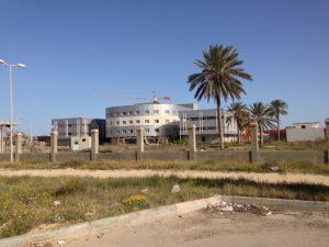 Zuwara's unfinished hospital (Photo: Archives)