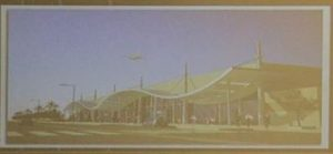 A slideshow showing how the new passenger terminal at Tripoli International Airport will look like(Photo: PC Ministry of Interior).