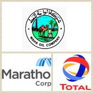 Total has acquired Marathon's share in the Waha concession.