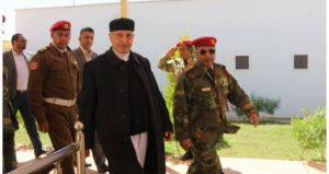 HoR head Ageela Saleh said he had been in contact with Hafter and warned against rumours and incitement (Photo: HoR).