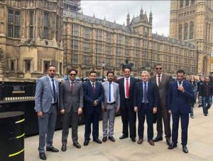 A delegation from Libya's House of Representatives is on an official visit to the United Kingdom (Photo: HoR).