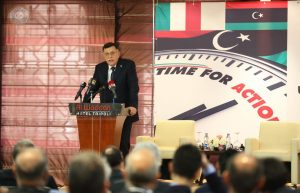 236-Libyan-Italian econ Forum held in Tripoli-3-090518