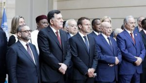 The contending Libyan parties committed themselves at yesterday's Paris conference to elections by 10 December 2018(Photo: Elysee.Fr).