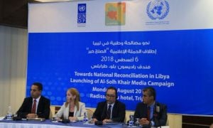 The UN launches a media campaign in Libya (Photo: UNSMIL).
