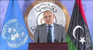 UNSMIL head Ghassan Salame (Photo grab from UNSMIL video).