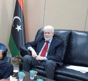 Abdalla Fellah has been re-elected as head of the Libyan Business Council (Photo: LBC).