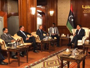 Faiez Serraj has called on the UN Sanctions Committee to partially lift its Libya arms embargo and asset freeze (Photo: PC).