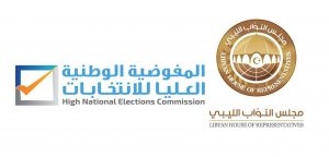 HNEC's head Sayeh updated the HoR Monday on preparations for the constitutional referendum (Logo: HNEC).