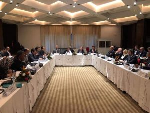 The international community facilitated the ninth Libyan Economic Dialogue meeting in Tunis yesterday between Libya's main sovereign entities (Photo: PC).
