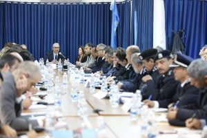 UNSMIL hosts a meeting between the international community and the Faiez Serraj Ministry of Interior to mobilize support in improving Libya's security sector (Photo: UNSMIL).
