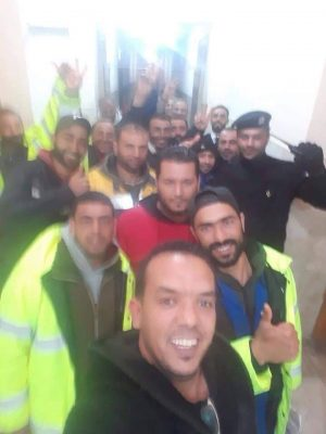 The 14 Tunisians kidnapped last week have been released by Libyan security forces (Photo: Social Media).