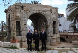 The UK Trade Envoy Henry Bellingham visits Tripoli seeking increased trade across all sectors (Photo: PC).