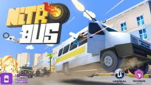 Techneon's Nitro Bus mobile phone game is available for Android users from the Libyana Game store (Photo: Techneon).