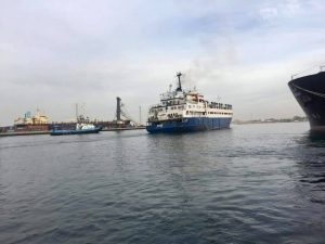 Ship transporting unhealthy livestock forced to leave Tripoli port back to Spain